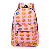 All over cool Emoji fashion school backpack book bag - Iconic Trendz Boutique