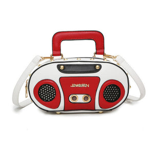 Radio boombox 3D handbag - Iconic Trendz Boutique