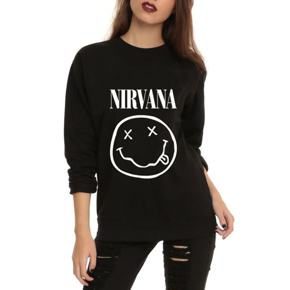 Nirvana pullover sweater top - Iconic Trendz Boutique