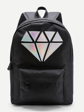 3D Diamond backpack - Iconic Trendz Boutique