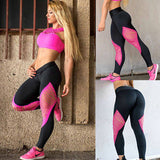 Ladies strappy cutout workout fitness leggings