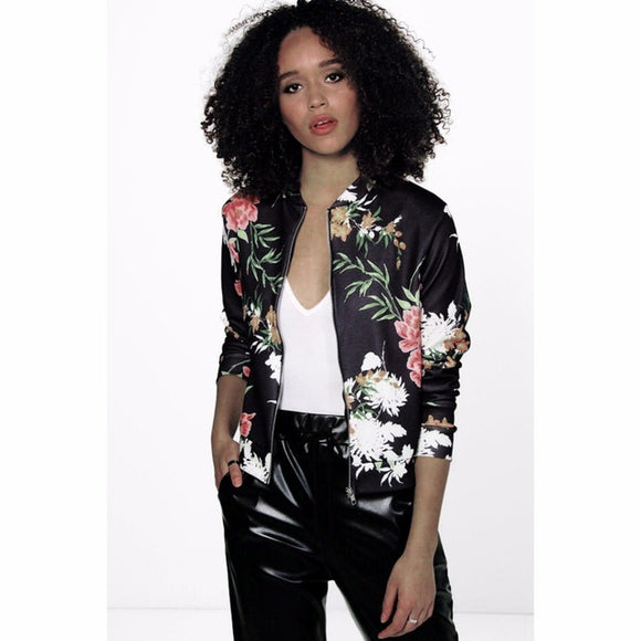 Floral Hawaiian Style Jacket - Iconic Trendz Boutique
