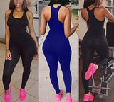 Casual strapless Bodycon fashion jumpsuit - Iconic Trendz Boutique