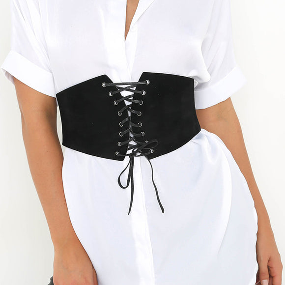Corset lace up belt - Iconic Trendz Boutique