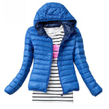 Classic light bubble hooded Slim Fit Jacket - Iconic Trendz Boutique