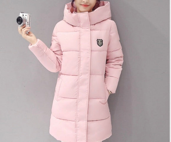 Women Warm Bubble detachable Hoodie long Winter Jacket - Iconic Trendz Boutique