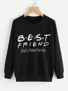 Best friend pullover fashion sweater