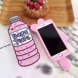 3d Boy tears phone bottle/ lick me case iPhone Samsung - Iconic Trendz Boutique