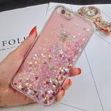Glitter floating liquid iPhone phone case - Iconic Trendz Boutique