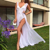 """Island vibes only"" bikini swimwear coverup maxi dress - Iconic Trendz Boutique"