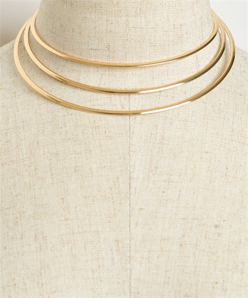 3 layer fashion choker necklace - Iconic Trendz Boutique