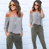 boho chic off the shoulder chiffon top - Iconic Trendz Boutique