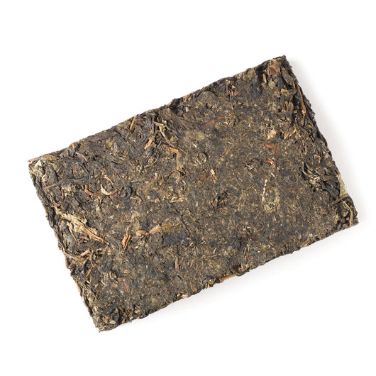 Aged Raw Pu'er Brick 2009
