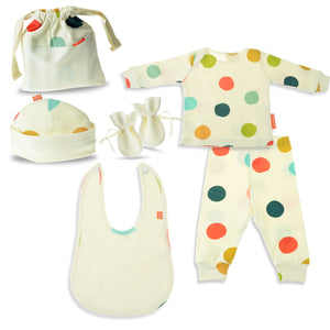 Happy Dots Unisex Baby Gift Set