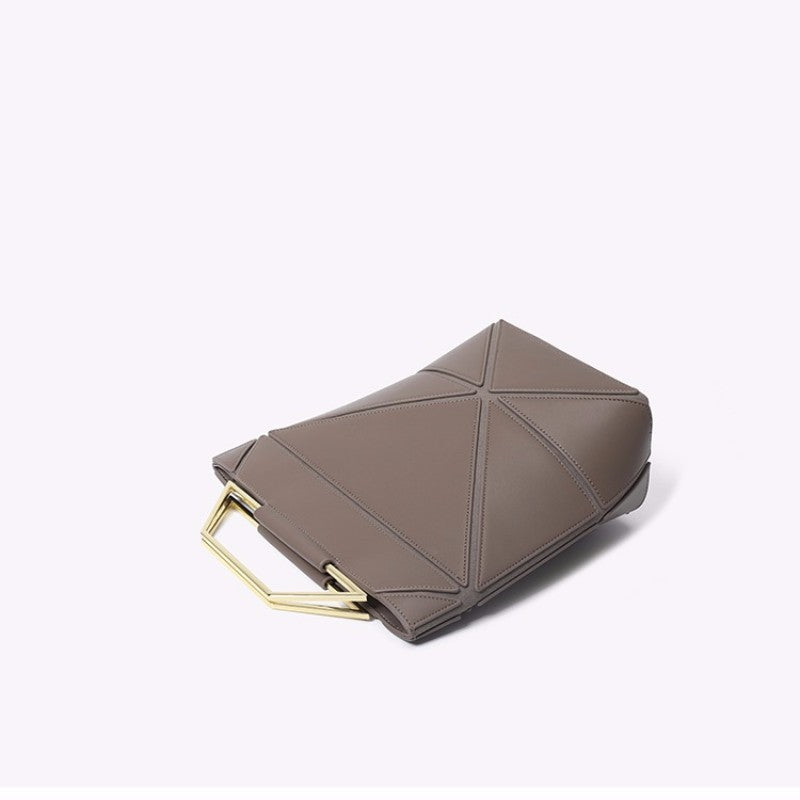760462b76de ... Leather Handbag Clutch Bag Simple Style Fashion Genuine Bag Outfit with Bags  Best gift - icraftleather ...