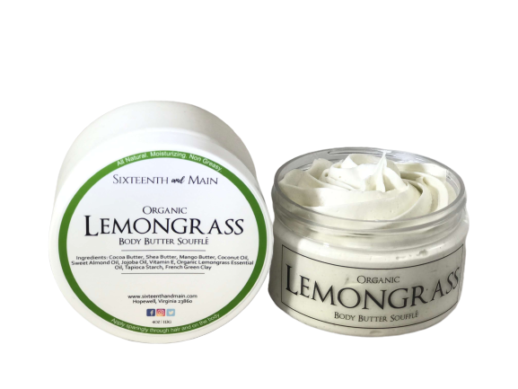 Organic Lemongrass Body Butter Soufflé