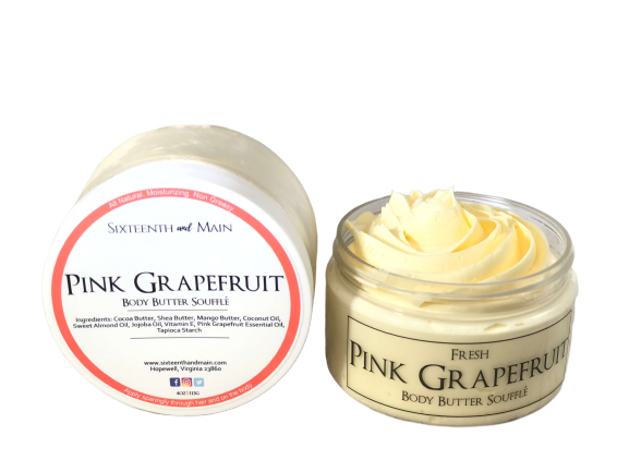 Pink Grapefruit Body Butter Soufflé