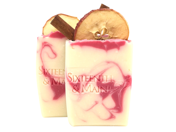 Red Apple Cinnamon Artisan Soap