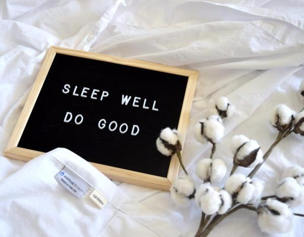 Cotton & Care Sleep Well Do Good