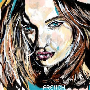 joy french art, australian artist, contemporary art, origianl art, gold coast portrait, portraiture french , joy