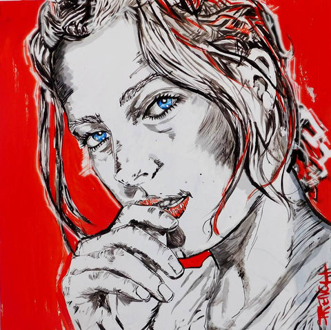 joy french , Austrailian contemporary, portrait artist, gold coast artist, modern art,joy ,faces