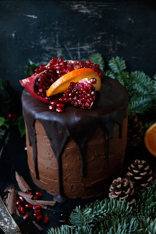 Vegan Chocolate Orange Cake