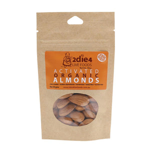 2Die4 Live Foods Activated Organic Almonds 40g