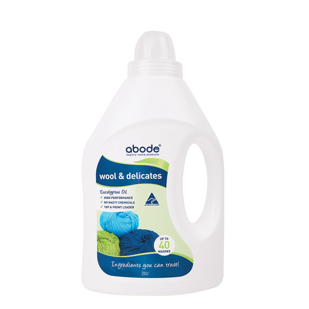 Abode Wool & Delicates (Front & Top Loader) Eucalyptus 2L