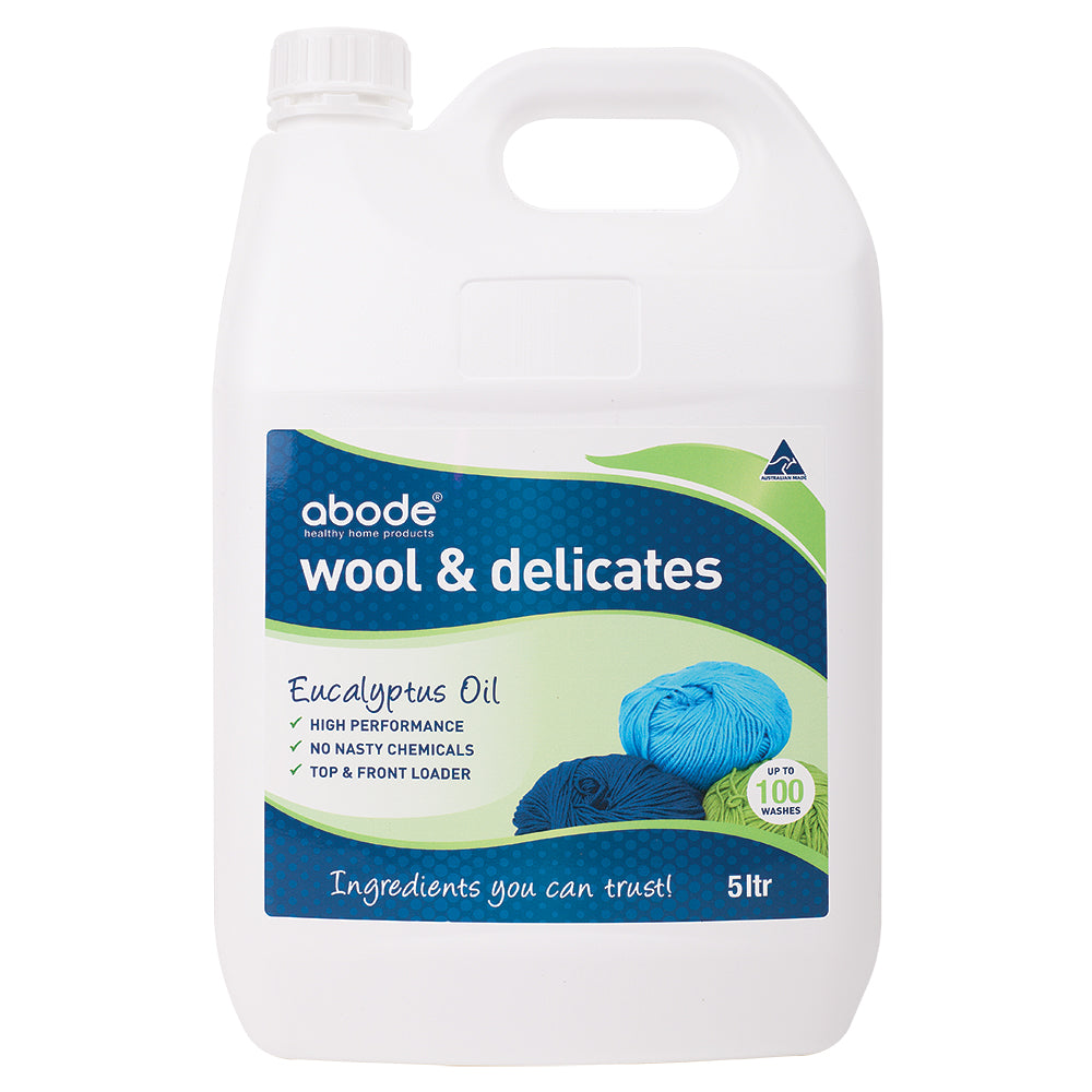 Abode Wool & Delicates (Front & Top Loader) Eucalyptus 5L