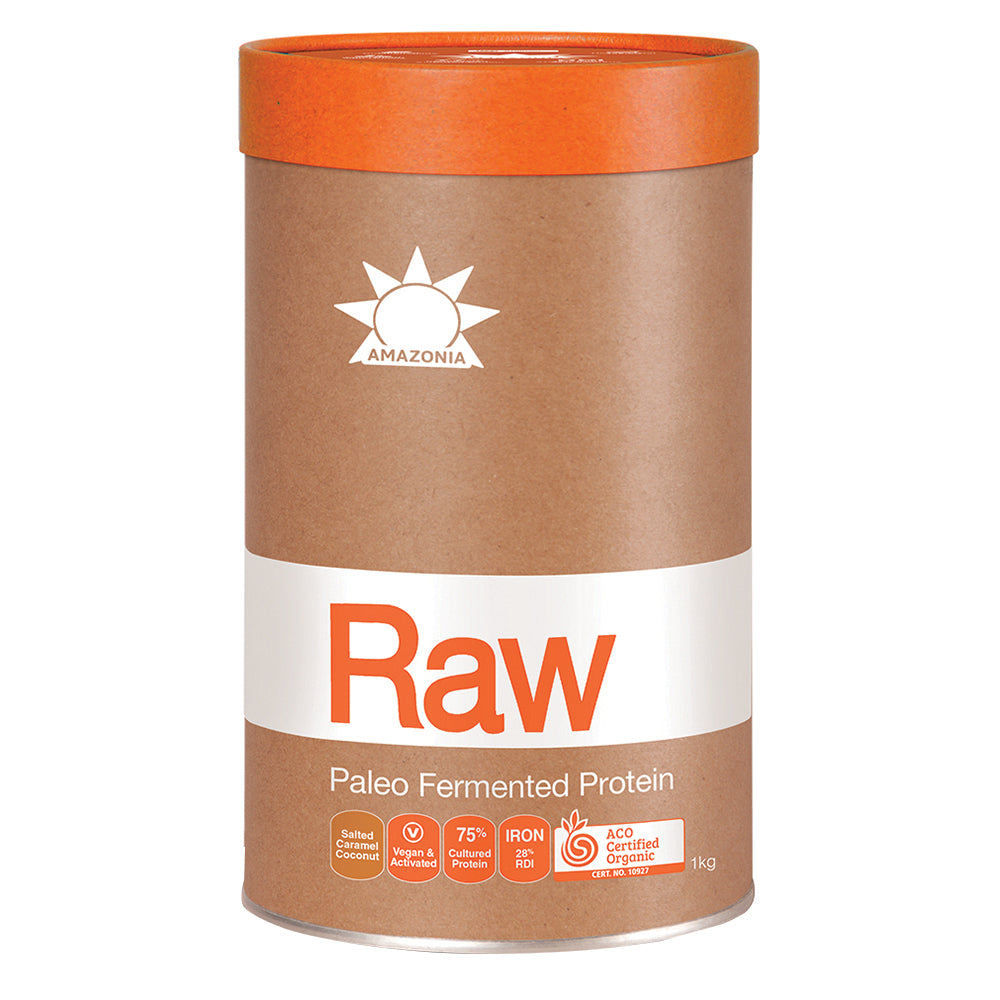 Amazonia Raw Protein Paleo Fermented Salted Caramel Coconut 1kg