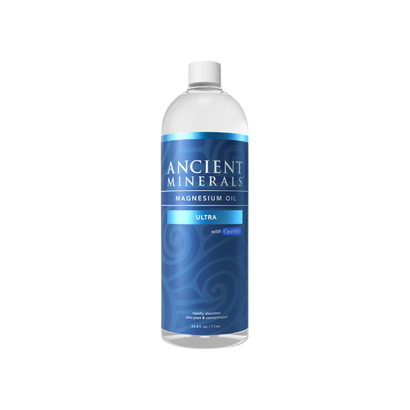 Ancient Minerals Magnesium Oil Ultra (with MSM) 1L