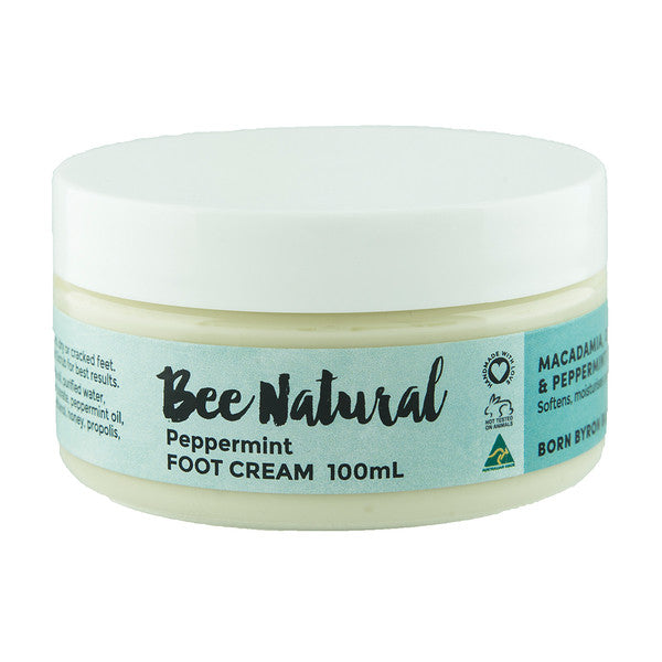 Bee Natural Peppermint Foot Cream 100ml