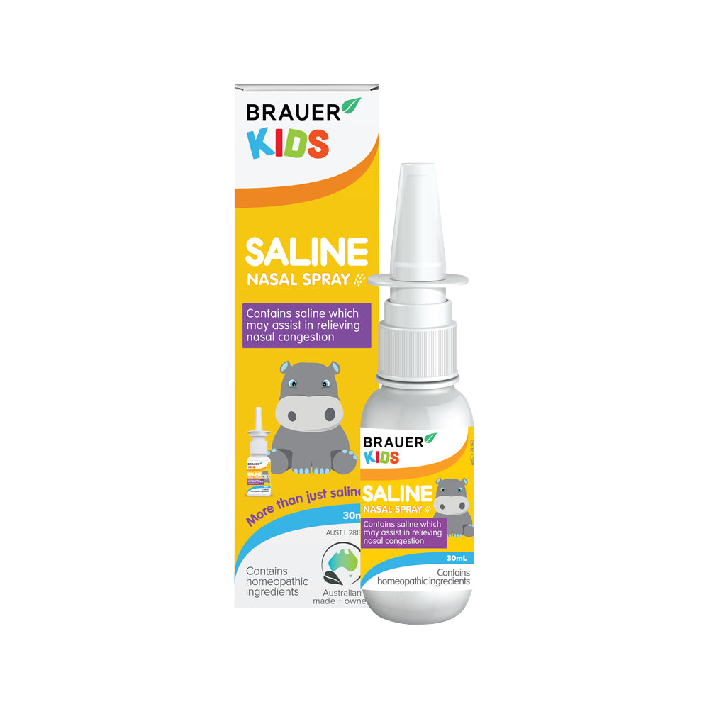 Brauer Kids Saline Nasal Spray 30ml