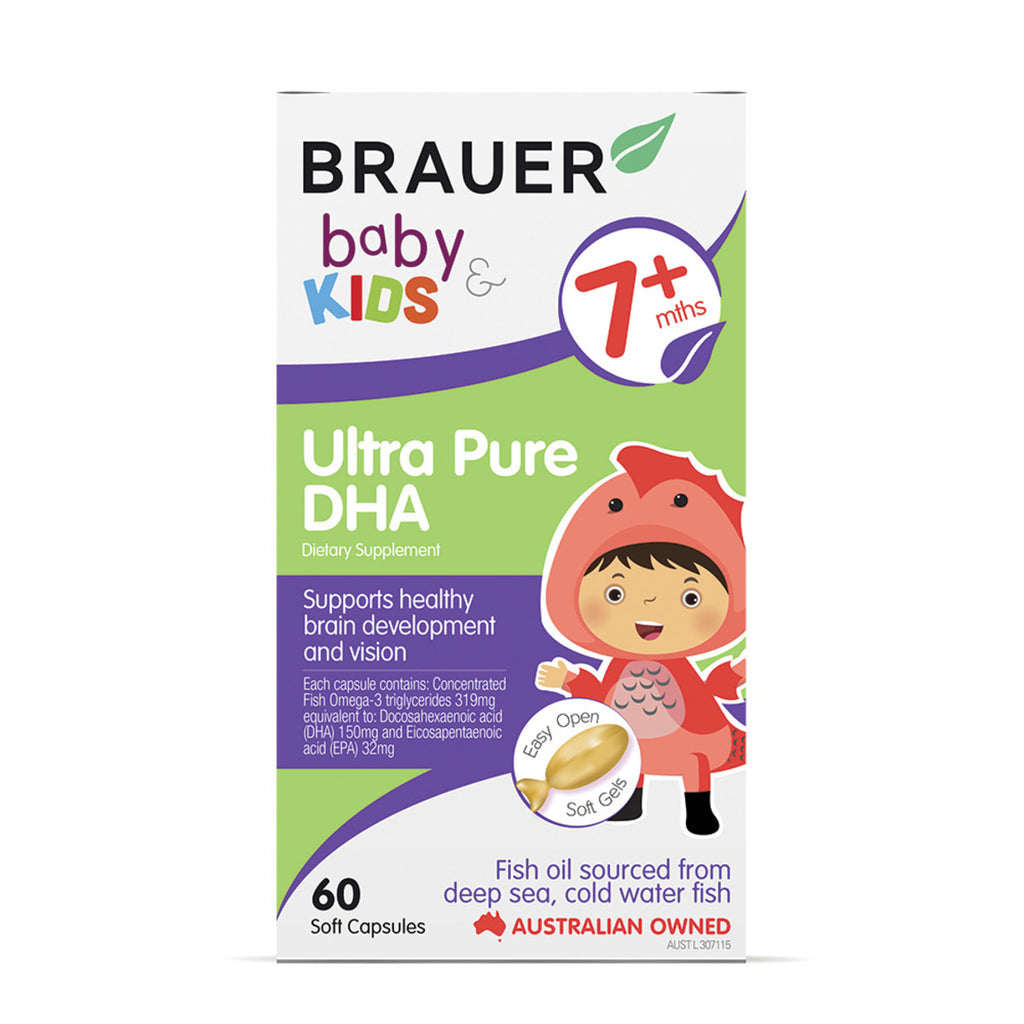 Brauer Baby and Kids Ultra Pure DHA Ultra 60c