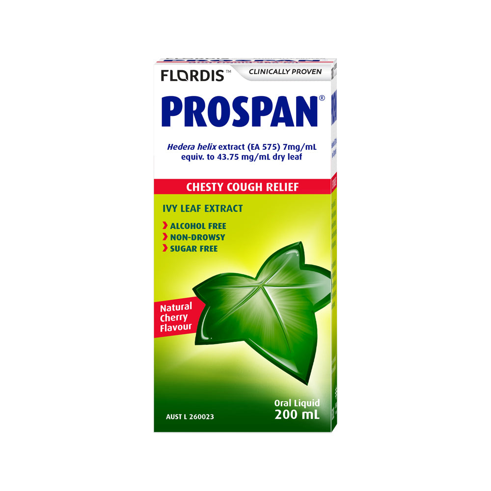 Flordis Prospan Chesty Cough Relief 200ml Oral Liquid