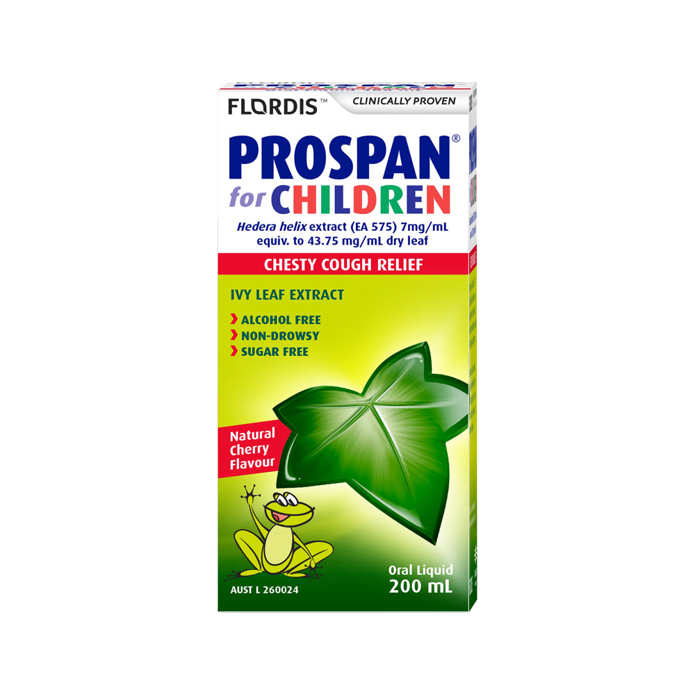 Flordis Prospan For Children Chesty Cough Relief 200ml Oral Liquid