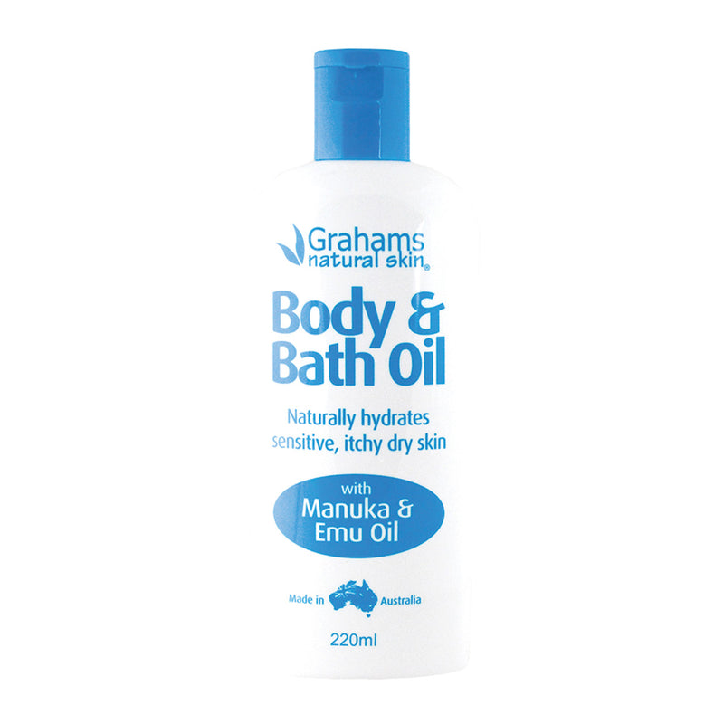 Grahams Natural Body and Bath Oil 220ml