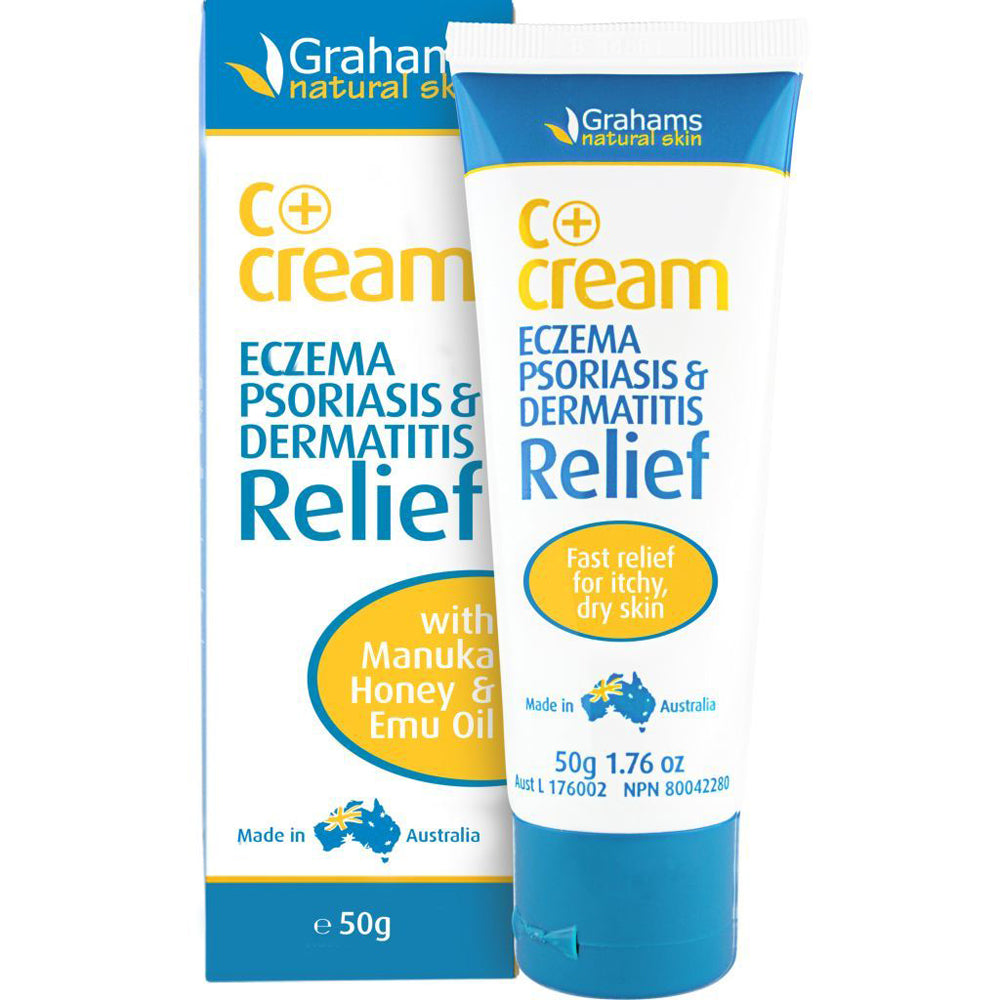 Grahams Natural C Plus Cream 50g
