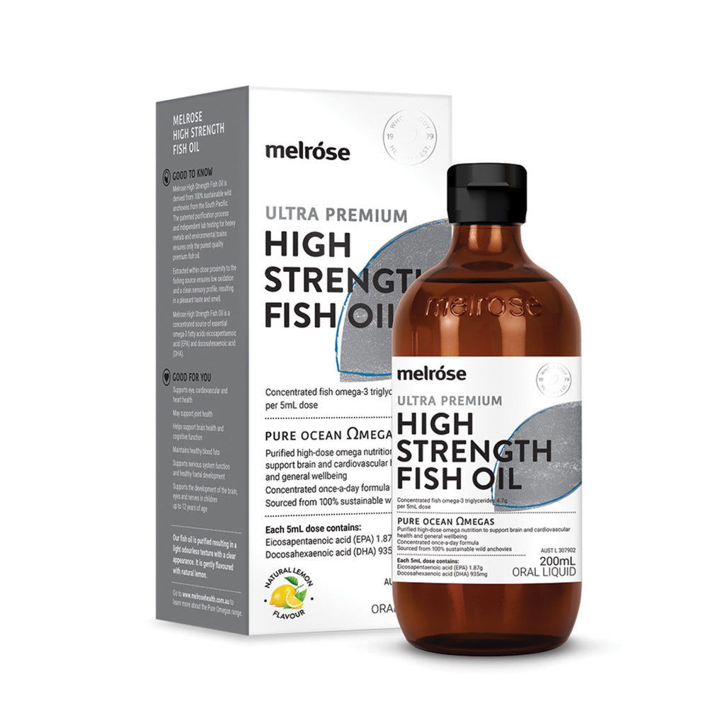 Melrose Fish Oil High Strength 200ml