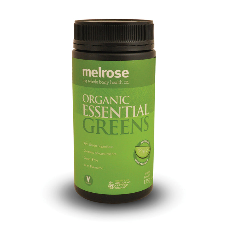 Melrose Organic Essential Greens Powder 125g