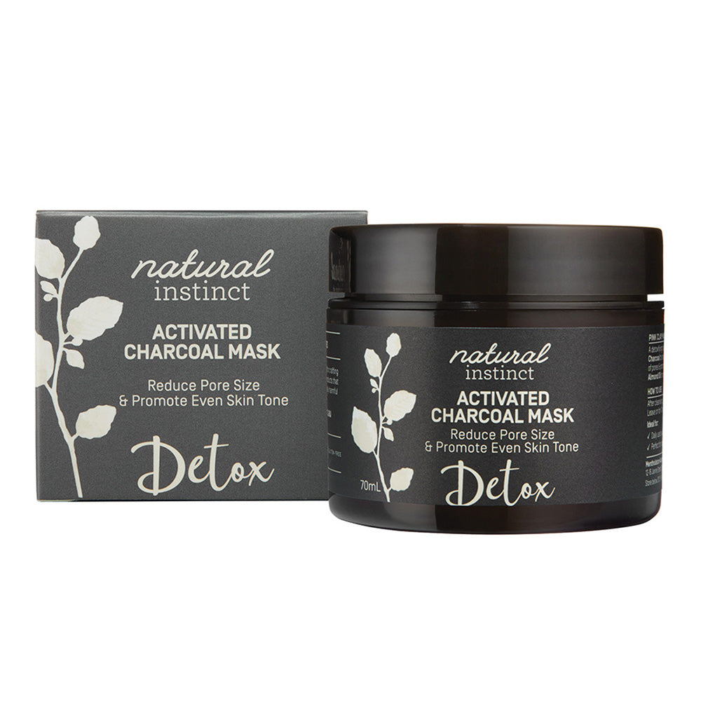 Natural Instinct Mask Activated Charcoal 70ml