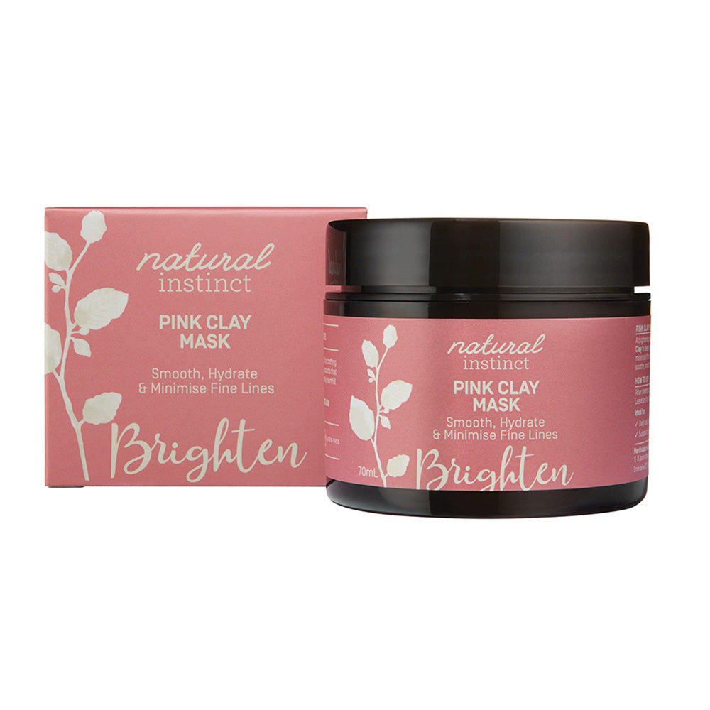 Natural Instinct Mask Pink Clay 70ml