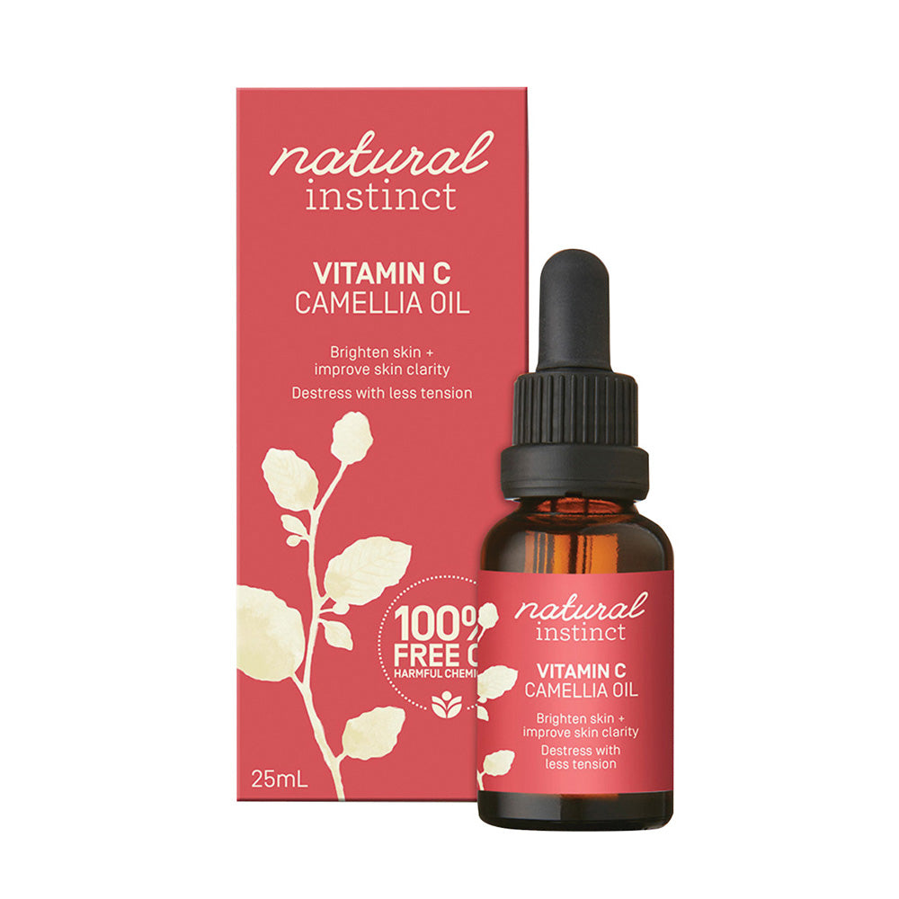 Natural Instinct Vitamin C Camellia Oil 25ml