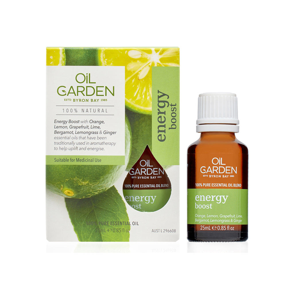 Oil Garden Blend Energy Boost 25ml