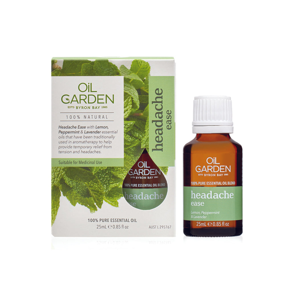 Oil Garden Blend Headache Ease 25ml