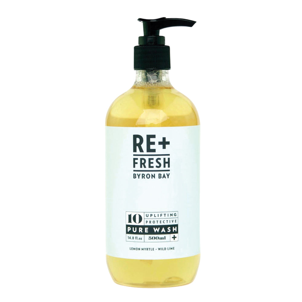 Re+Fresh Pure Wash (Uplifting Protective with Lemon Myrtle & Wild Lime) 500ml