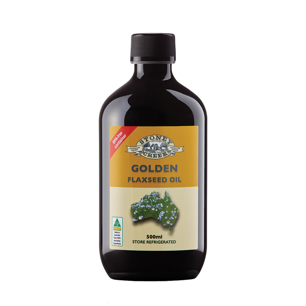 Stoney Creek Flaxseed Oil Golden 500ml