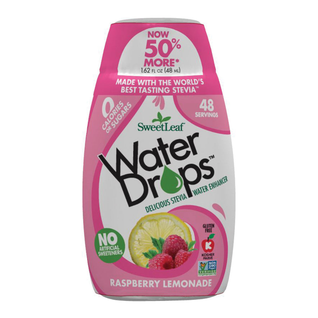 Sweet Leaf Stevia Water Drops Raspberry Lemonade 48ml