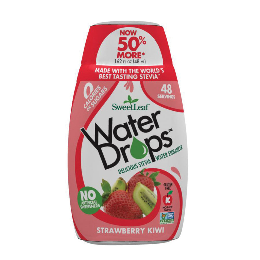 Sweet Leaf Stevia Water Drops Strawberry Kiwi 48ml