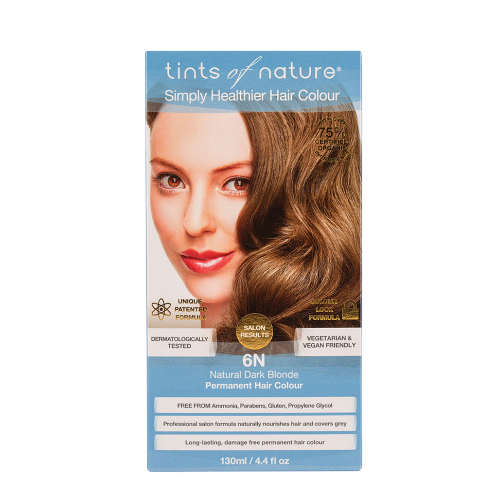 Tints of Nature Permanent Hair Colour Natural Dark Blonde 6N